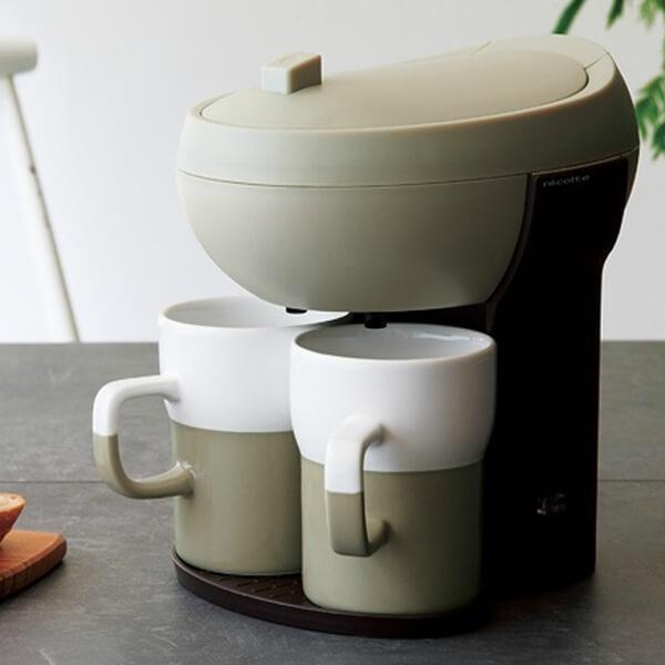 レコルト カフェデュオ パウス コーヒーメーカー