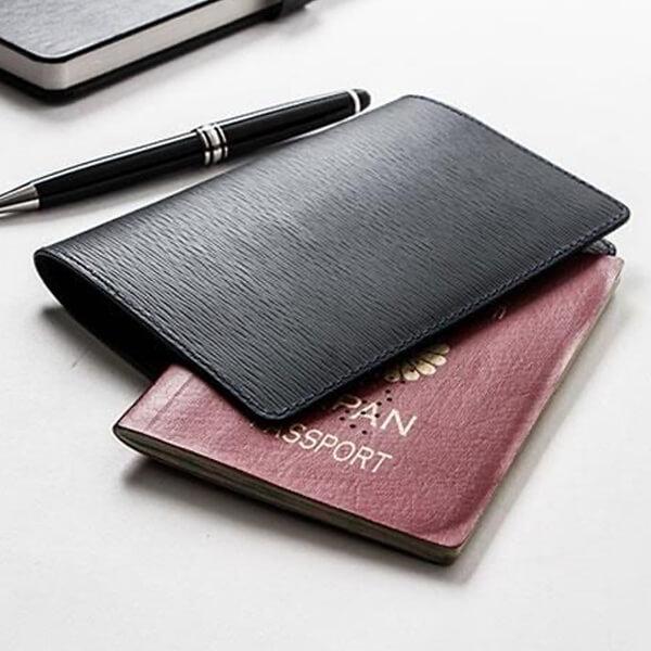 ジャン・ルソー Passport case ソイエンボス カーフ パスポートケース Jean Rousseau