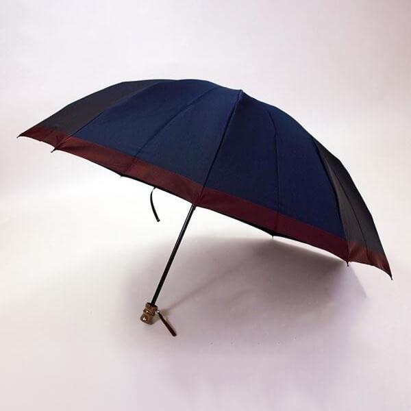 小宮商店 甲州織 ゲンテン 折りたたみ傘 10本骨 60cm