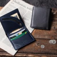ヴィンテージの財布 tanned leather