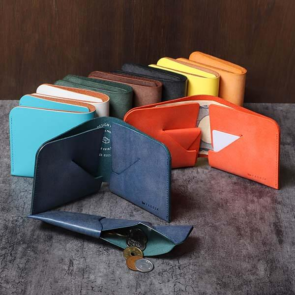 ファブリック コインケースが取り外せる財布 BI-FOLD WALLET & COIN CASE