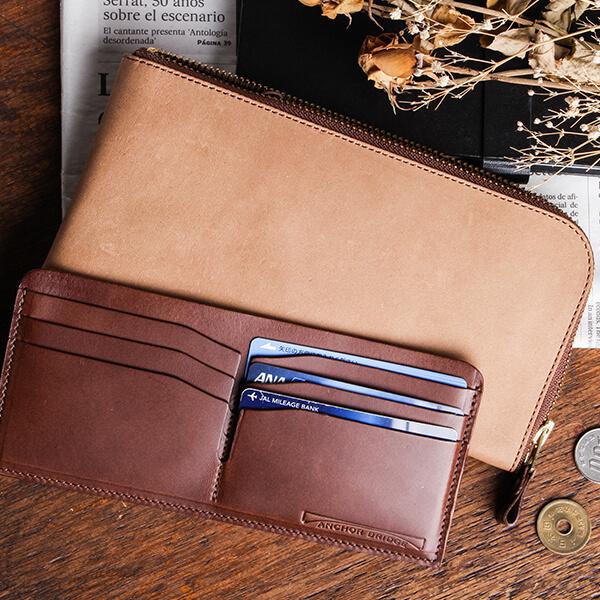 アンカーブリッジ Long Zip Wallet 長財布