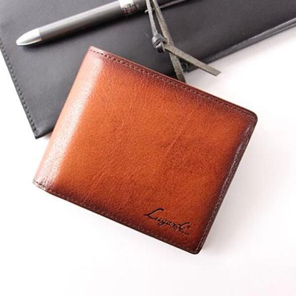 ラガード G-3 ジースリー シャドー仕上げ小銭入れ付二つ折り財布 財布 Lugard
