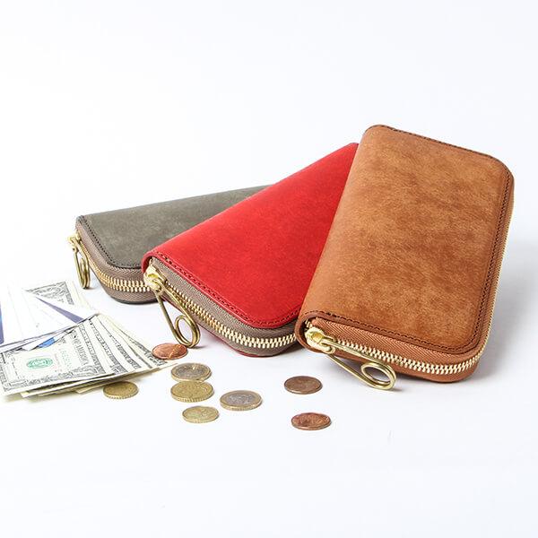 マルメ ラウンドジップロングウォレット 財布