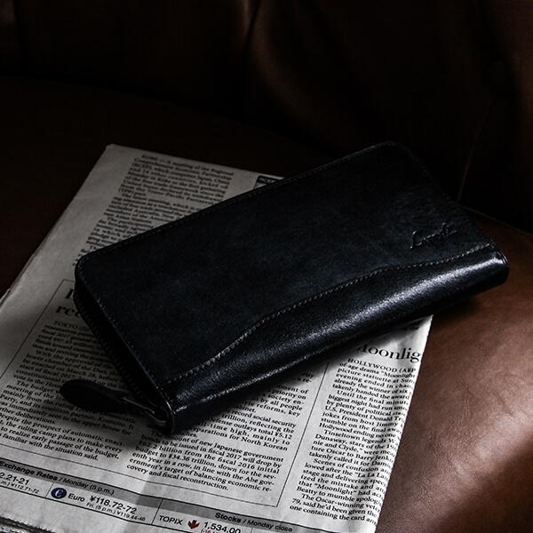 ラガードのラウンド財布 G-3 ファスナーラウンド財布