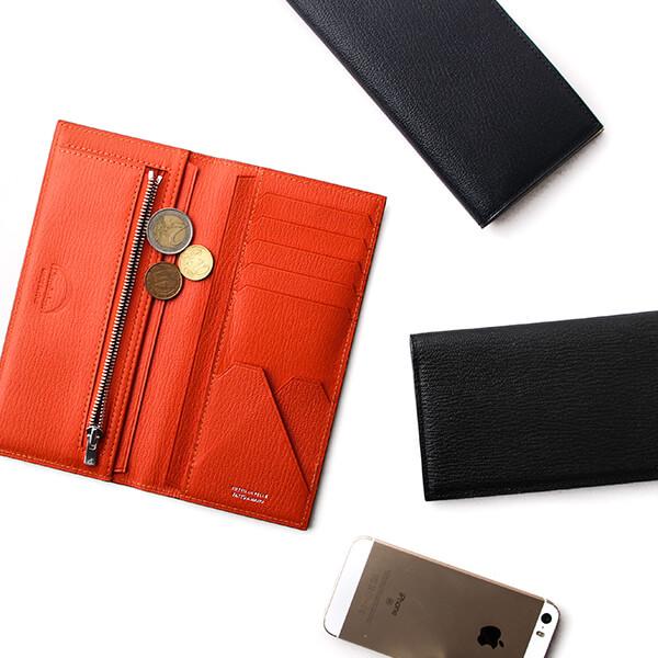 ラルコバレーノ 二つ折りロングウォレット 二つ折り財布